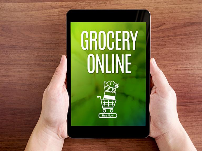 online grocery purchase