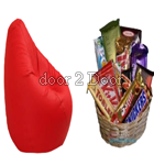 Bean Bag and Chocolate Basket